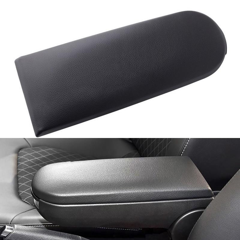 Gray Console Center Armrest Arm Rest Cover Lid For VW Bora Passat Beetle Jetta