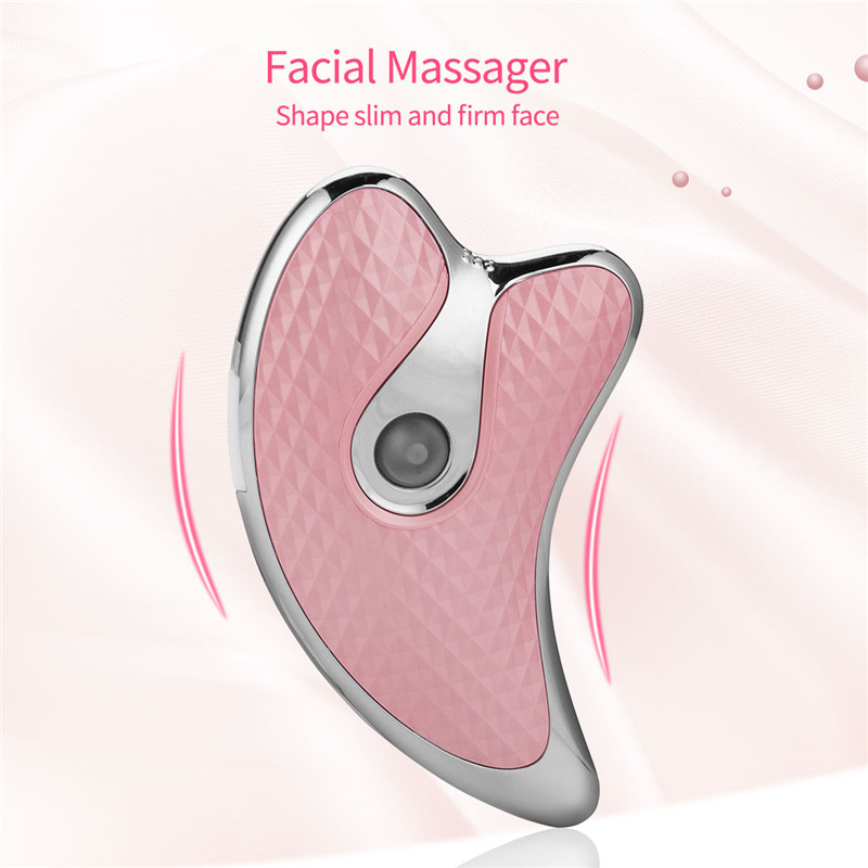 Electric Face Scraping Massage Wrinkle Removal Face Neck Body Guasha Slimming Lifting Massager Vibration Heating Beauty Device45
