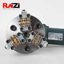 Raizi 5 inch/125 mm Bush Hammer Wheel Coating Removal for Stone Concrete Terrazzo Litchi