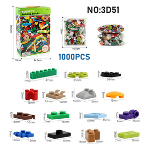 Image 3 - 1000PCS DIY Building Blocks Figures Educational Creative Compatible With brands bricks Toys for Children Kids Birthday Gift
