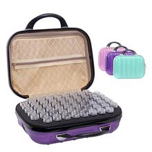цены Essential Oil Bottle Storage Bag 132-Grid Essential Oil Carrying Case Holder Travel Portable Nail Polish Organizer Storage Bag