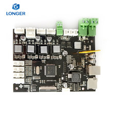 Mais longo lk1/lk2 mainboard alfawise u20/u30 mainboard original impressora 3d placa-mãe longer3d mais 3d(China)