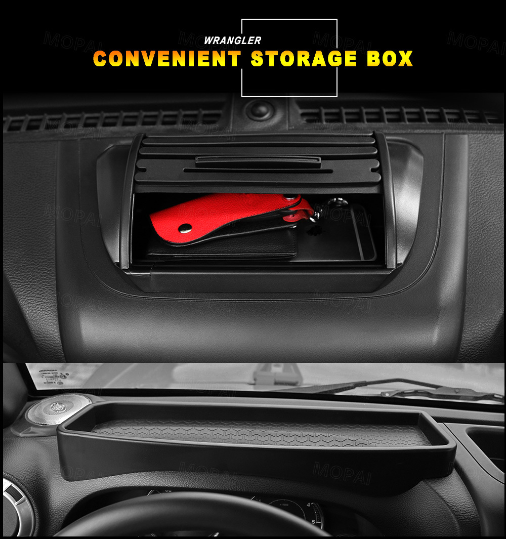 Front Dashboard Storage Box Organizer Case