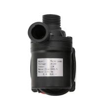 800L/H 5m DC 12V 24V Solar Water Heater Brushless Motor Circulation Water Pump U1JB