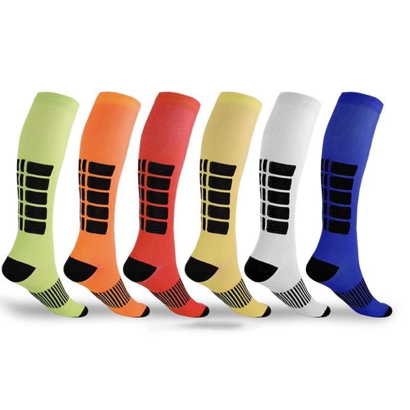 1 Pair Unisex Antifatigue Compression Socks Medical Varicose Veins Leg Relief Pain Knee High Stockings