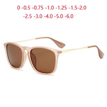 Hot New kobiety owalne okulary korekcyjne mężczyźni spolaryzowane kolorowe soczewki okulary przeciwsłoneczne do jazdy dioptrii 0 -0 5 -0 75 -1 0 To -6 0 tanie i dobre opinie GSBJXZ CN (pochodzenie) WOMEN Z poliwęglanu Dla osób dorosłych Z tworzywa sztucznego polaryzacyjne Przeciwodblaskowe