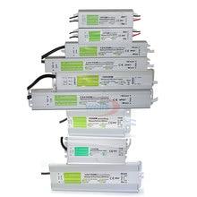 กันน้ำ IP67 LED Driver AC DC 12 V/24 V 10W 15W 20W 25W 30W 36W 45W 50W 60W 80W 100W 120W 150W แหล่งจ่ายไฟสำหรับ LED Strip LIGHT