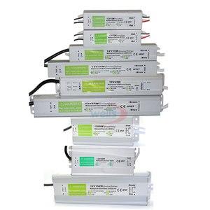Image 1 - Waterproof IP67 LED Driver Ac dc 12V/24V 10W 15W 20W 25W 30W 36W 45W 50W 60W 80W 100W 120W 150W Power Supply for LED strip Light