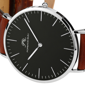 Image 3 - Dial 40mm mens simple fashion watch DW same 316L stainless steel Japanese Shiying movement