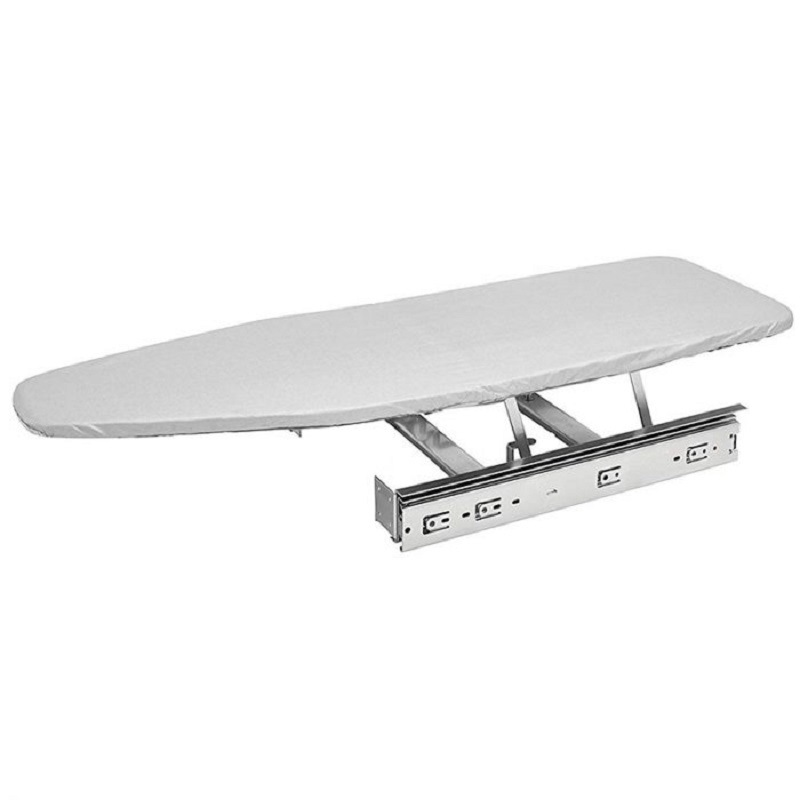 Wardrobe Drawer Ironing Board Extendable Slidable Folding Ironing Board Cloak Room Damping Buffer Recessed Ironing Board