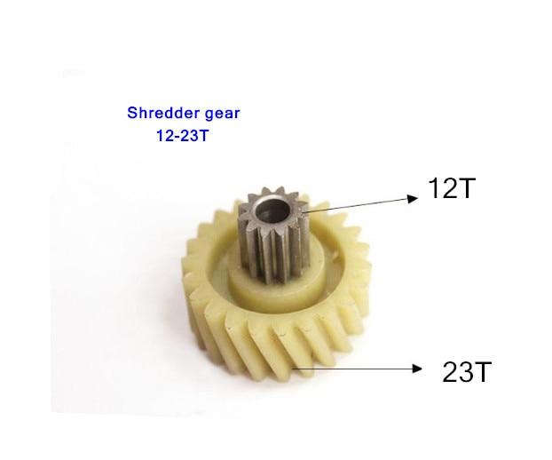 Shredder Gear 12T 23T C638 C-638 C868 C668 Shredder Gear Accessories 23 Teeth 12 Teeth
