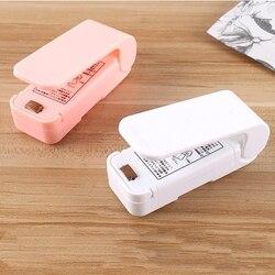 Тепловой упаковщик, пластиковый упаковщик пакетов, миниатюрный тепловой упаковщик, устройство для сохранения еды, хранение закусок, ручной