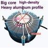 For MD50i RGB 115X 1200 I5 I7 I9 CPU Radiator Maidu Silent Fan Spacer Rring Light Guide Ring Design