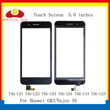 10Pcs/lot Touch Screen For Huawei GR3 Touch Panel Sensor Digitizer Enjoy 5S Touch TAG-L21 TAG-L22 TAG-L03 TAG-L01 TAG-L13 стоимость