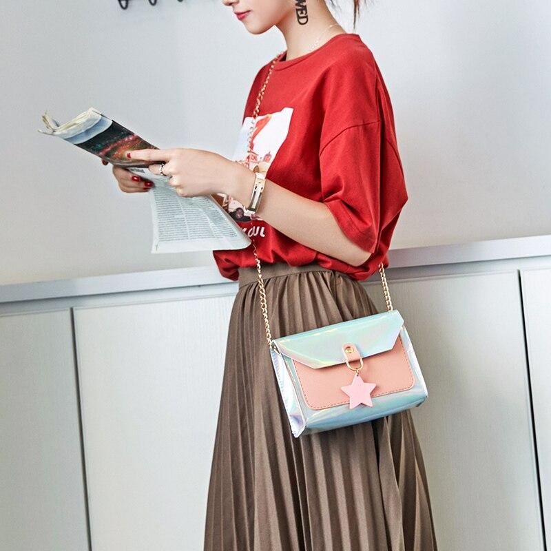 Coin-Purse Wild-Star Phone-Bags Messenger-Bag Shoulder Female Korean-Version of Soudelor