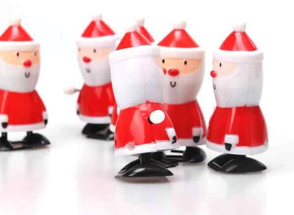 1 قطعة الطفل مضحك لعب الاطفال الربيع تصورها لعبة البسيطة التراجع المشي عيد الميلاد سانتا كلوز الرياح حتى اللعب ل الأطفال الفتيان GYH