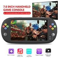 """נייד משחקי שחקנים משחק ניידות X16 נייד עבור 7.0"""" רוקר זוגי משחק ארקייד GBA NES HDMI קונסולת משחקי הווידאו מיני רטרו MP5 מסך (1)"""