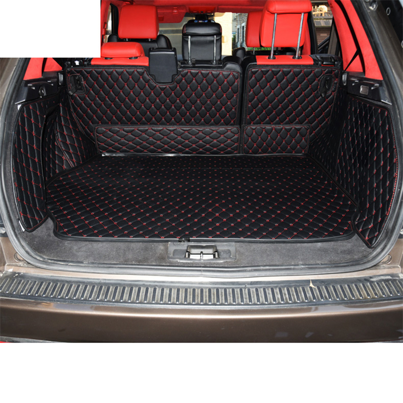 Lsrtw2017 Leather Car Trunk Mat Cargo Liner For Range Rover Sport L320 2005 2006 2007 2008 2009 2010 2011 2012 2013 Accessories