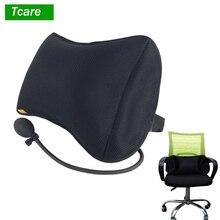 Tcare Draagbare Opblaasbare Lendensteun Massage Kussens Orthopedische Ontwerp Voor Rugpijn Relief Lendensteun Kussen