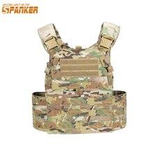 EXCELLENT ELITE SPANKER Hunting Quick Release Tactical Vest Molle Airsoft Vests Outdoor CS Game Plate Carrier Combat Vests