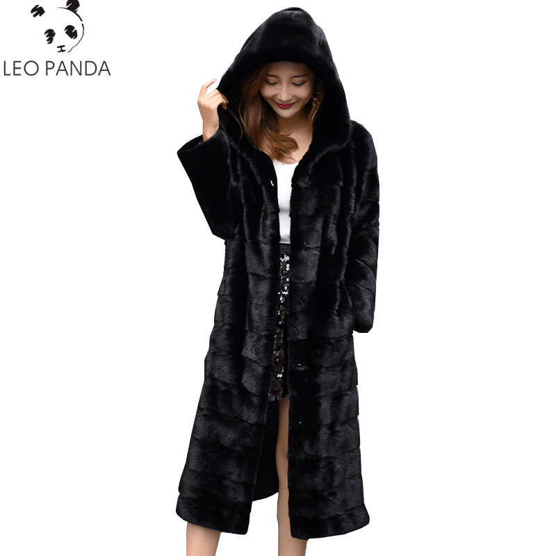 2019 kış kadın lüks uzun özelleştirmek artı boyutu fabrika gerçek fiyat hakiki tavşan gerçek kürk kadın kürk ceket yeni kış