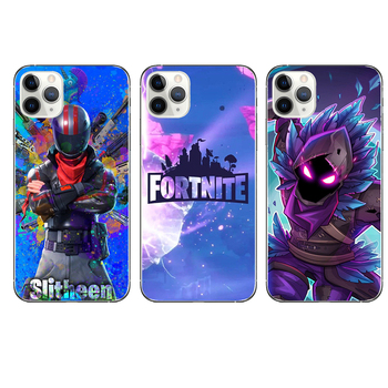 Silicone Phone Cases Fortnites Game Mobile Phone Cover 3D Cartoon Printed Phone Covers for Iphone X XR XS Iphone 6 7 8s Plus 1
