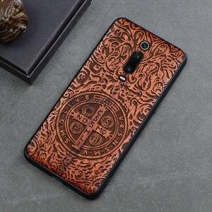 Image 3 - טלפון מקרה עבור Xiaomi Mi 9 לייט Mi 9T Mi 10 פרו מקורי Boogic עץ מקרה עבור Xiaomi Redmi הערה 7 הערה 8 פרו טלפון אבזרים