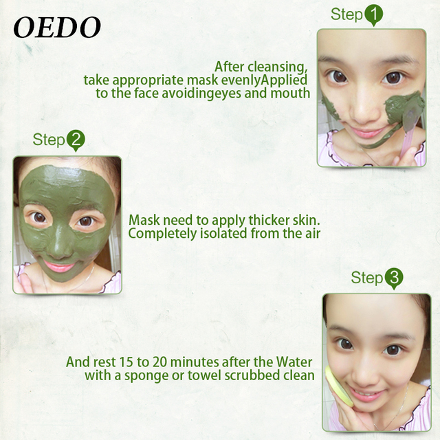 Hot Face Cleansing Mung Bean Mud Peeling Acne Blackhead Treatment Mask Remover Contractive Pore Whitening Hydrating Care Creams 3