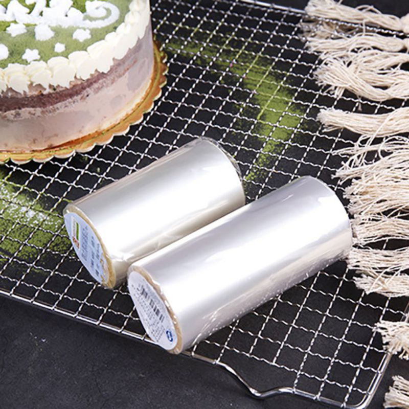 Cake Rims Transparent Mousse Hard Edging Soft Disposable Safe For Decorating 8/10CM
