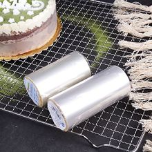 Cake Rims Transparent Mousse Hard Edging Soft Disposable Safe For Decorating 8/10CM
