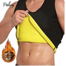 Shirt Shapewear Tank-Tops Male Corset Neoprene Sauna-Vest Sweat-Waist-Trainer Tummy-Control