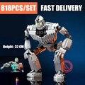 Новый MOC фильм железный робот городские фигурки Voltron Fit Technic Giant модель строительные блоки кирпичи детские игрушки подарки на день рождения