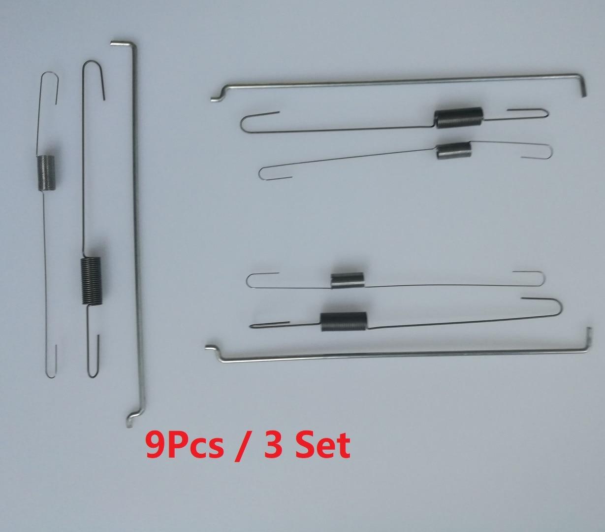 9pcs/3set Metal Throttle Return Spring Governor Link Rod Set 16555-ZE1-000 16561-ZE1-020 Fit For Honda GX140 GX160 GX200