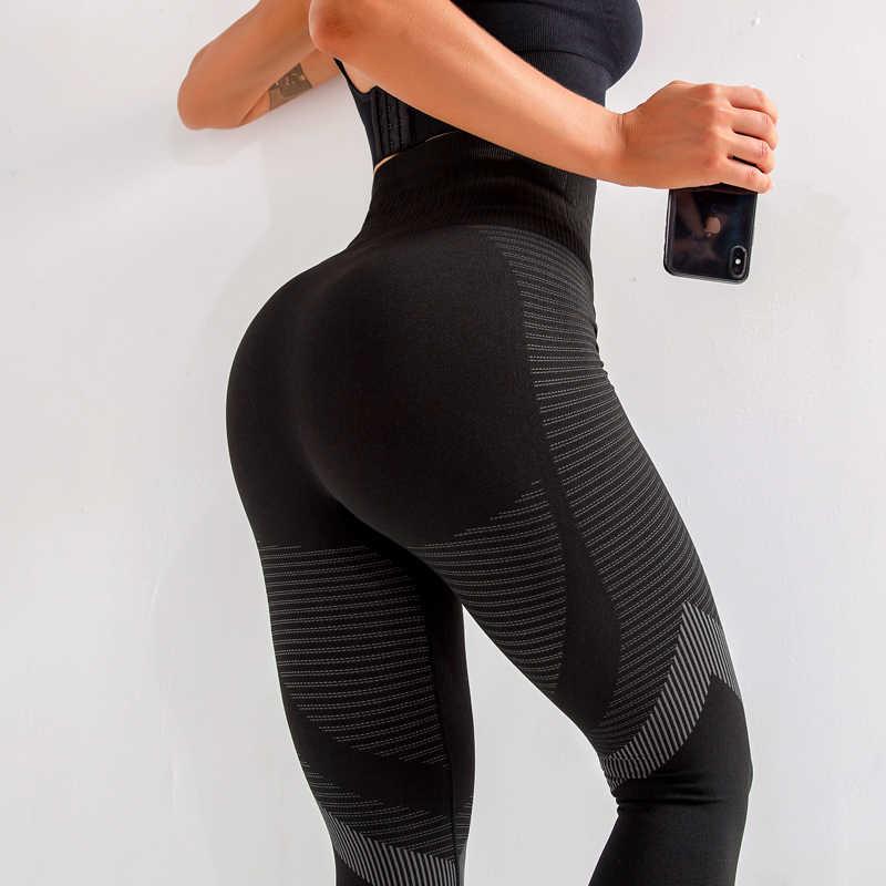 Женские леггинсы для фитнеса с пуш-ап высокой талией, женские сексуальные дышащие леггинсы для тренировок Feamle Mujer