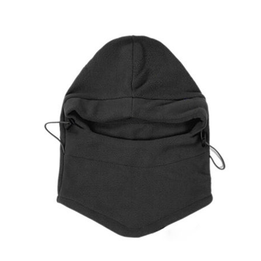 Image 5 - Thermal Fleece Balaclava Hat Hooded Neck Warmer Cycling Face Mask Outdoor Winter Sport Face Mask for Men Cycling Masked cap-in Cycling Face Mask from Sports & Entertainment