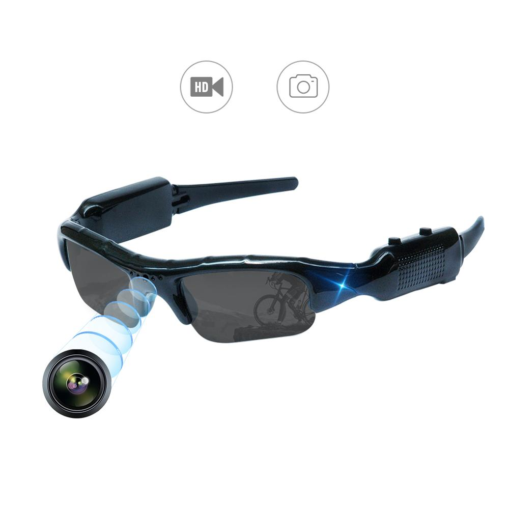 Video Camera Sunglasses Cam Video Snapshot Outdoor Sports Portable Full HD  Recorder Camera For Fishing, Cycling, Hiking