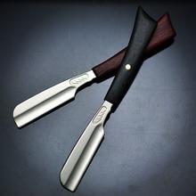Hairdressing Razor Shaver Stylist Vintage Scraper Hair Razor And Blades Holder Handle Razor Holder G0131