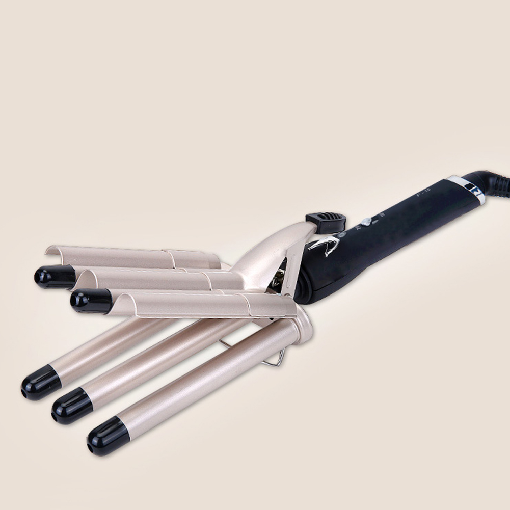 Ferramentas de Cabelo Profissional Curling Ferro Cerâmica Cinco Barril Cabelo Estilor Waver Ferramentas Estilo Curlers Elétrica Ondulação