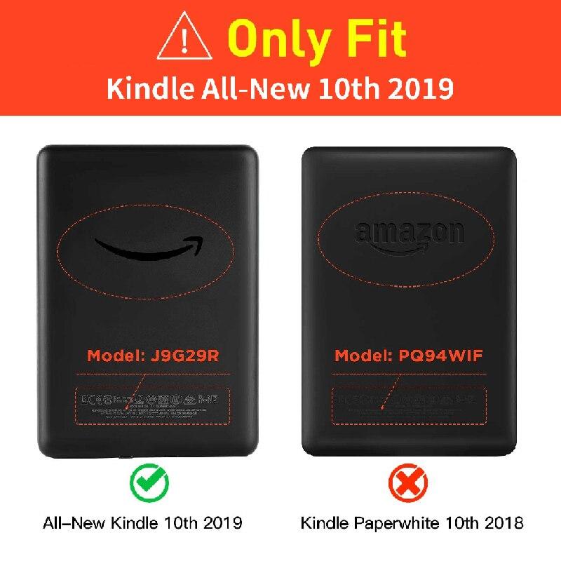 Новинка 2019 чехол Kindle для Funda Amazon Kindle 6 дюймов чехол Kindle 10 поколение водонепроницаемый флип-чехол для электронной книги-5