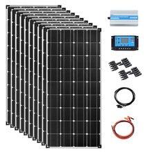 Солнечная панель 1200 Вт 12 В в комплекте аккумуляторная батарея