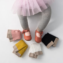 IMCUTE Baby Girls' Knit Seamless Panty-Hose Soft And Warm Long Pants Stockings For Fall And Winter Hot Sale(China)