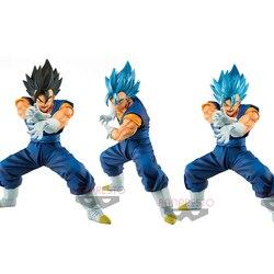 Tronzo Original Super Vegetto SSGSS Final Kamehameha Bandai NAMCO Limited Vegetto Blue PVC Action Figures