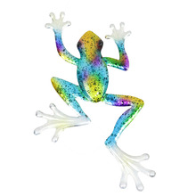 3pcs Frog Wall Decoration for Home and Garden Decoration Outdoor Statues Sculptures and Miniatures Animal