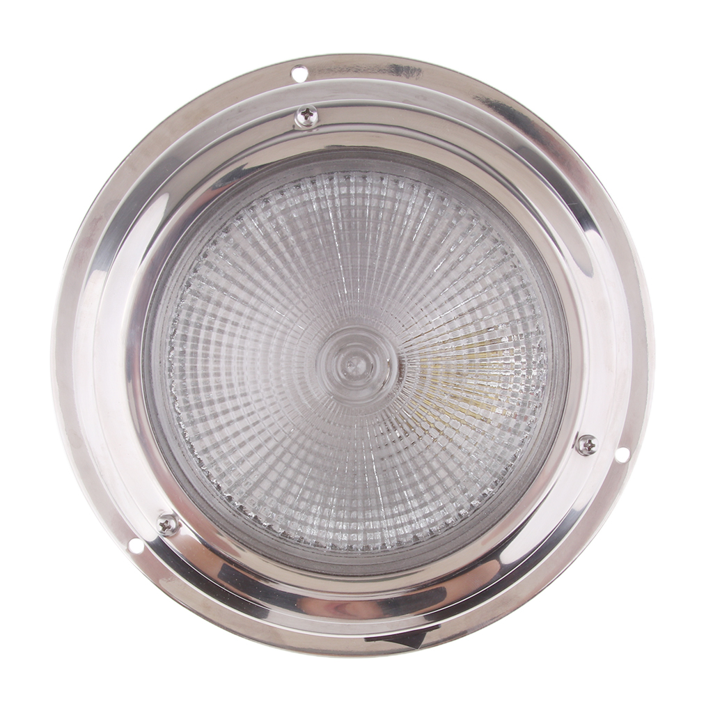 170mm 6.7'' LED Round Roof Ceiling Interior Dome Light Lamp For Boat Car RV Auto