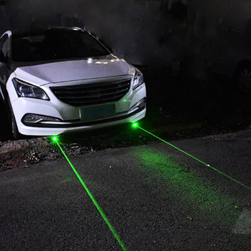 Auto Car exterior accessories laser light spotlight projector cab roof led green 12v ambient lamp