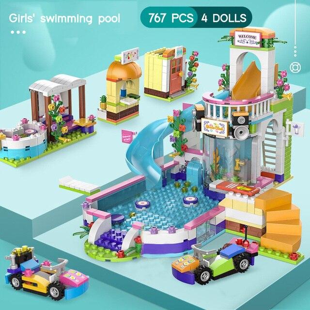 Mainan Blok Rumah Rumahan  2