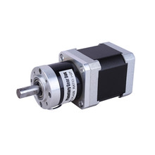 Lunyee ratio5 planetary geared stepper motor nema23 57mm planetary gearbox geared stepper motor ratio 10 1 nema23 l 56mm 3a