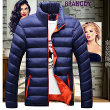 Winter and autumn men's ultralight jacket coat men's down jacket casual jacket Parker 5XL solid color down jacket