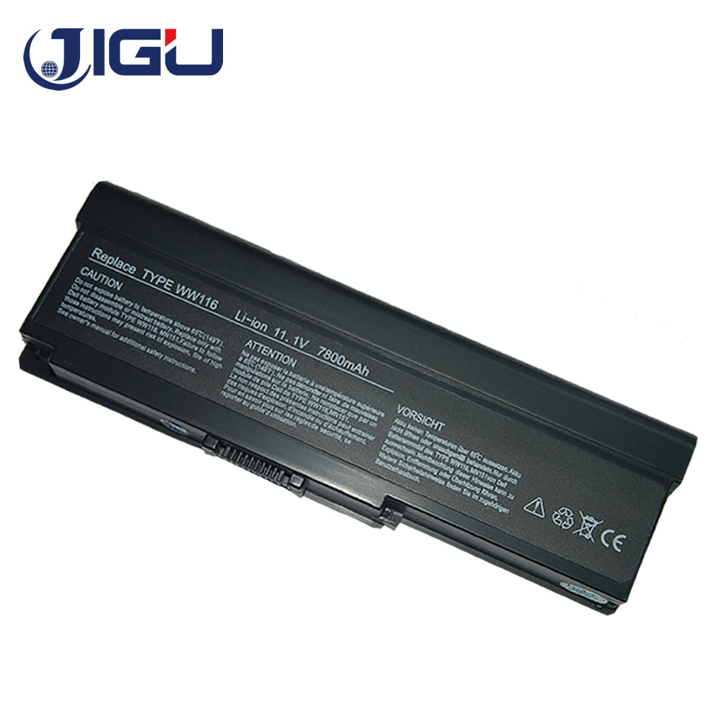 JIGU 9Cells 7800mAh New Laptop <font><b>Battery</b></font> For <font><b>Dell</b></font> <font><b>Inspiron</b></font> <font><b>1420</b></font> For Vostro 1400 FT080 FT092 FT095 KX117 MN151 MN154 NR433 WW116 image