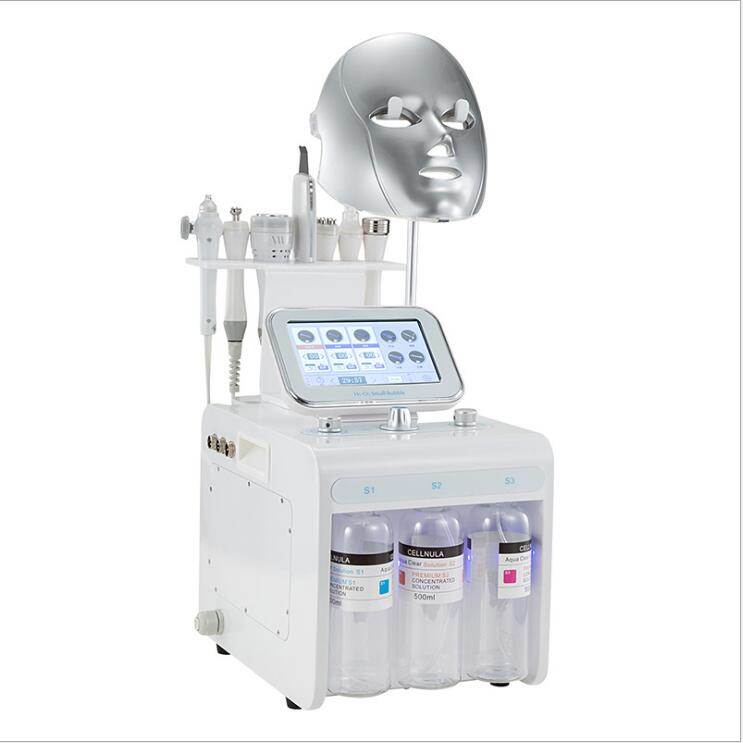 Multifunctional H2O2 Small Bubble Machine Hydro Dermabrasion Oxygen Facial Beauty Instrument